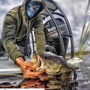Largemouth sent in by  ・・・ Started the day with the outside temperature at 39 de…