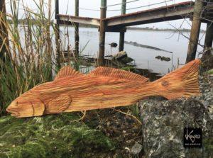 Beautiful carved Redfish