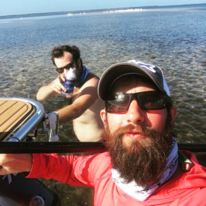 Shoved my buddy Taylor into his personal best trout this morning before getting …