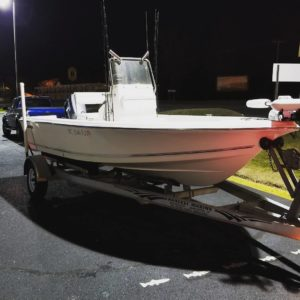 The boat is clean! Hope they are biting tomorrow. . . . .  …
