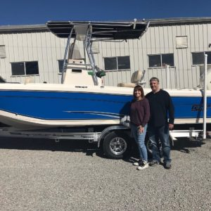 Carolina Skiff – Matt Wicker would like to thank the Ballance Family for their business and congr…