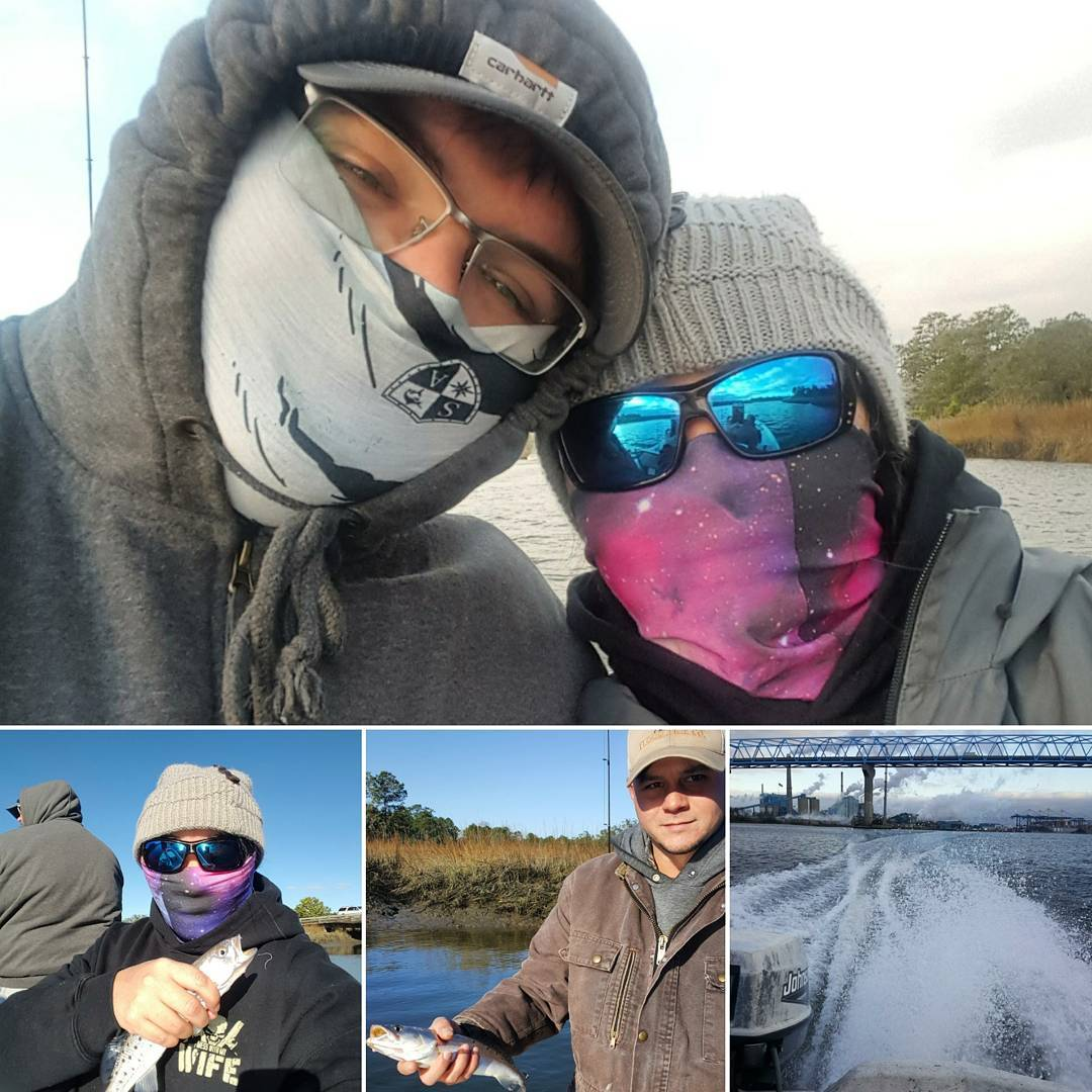 It was cold and windy Saturday! We ran up deep in some creeks and found the  Not...