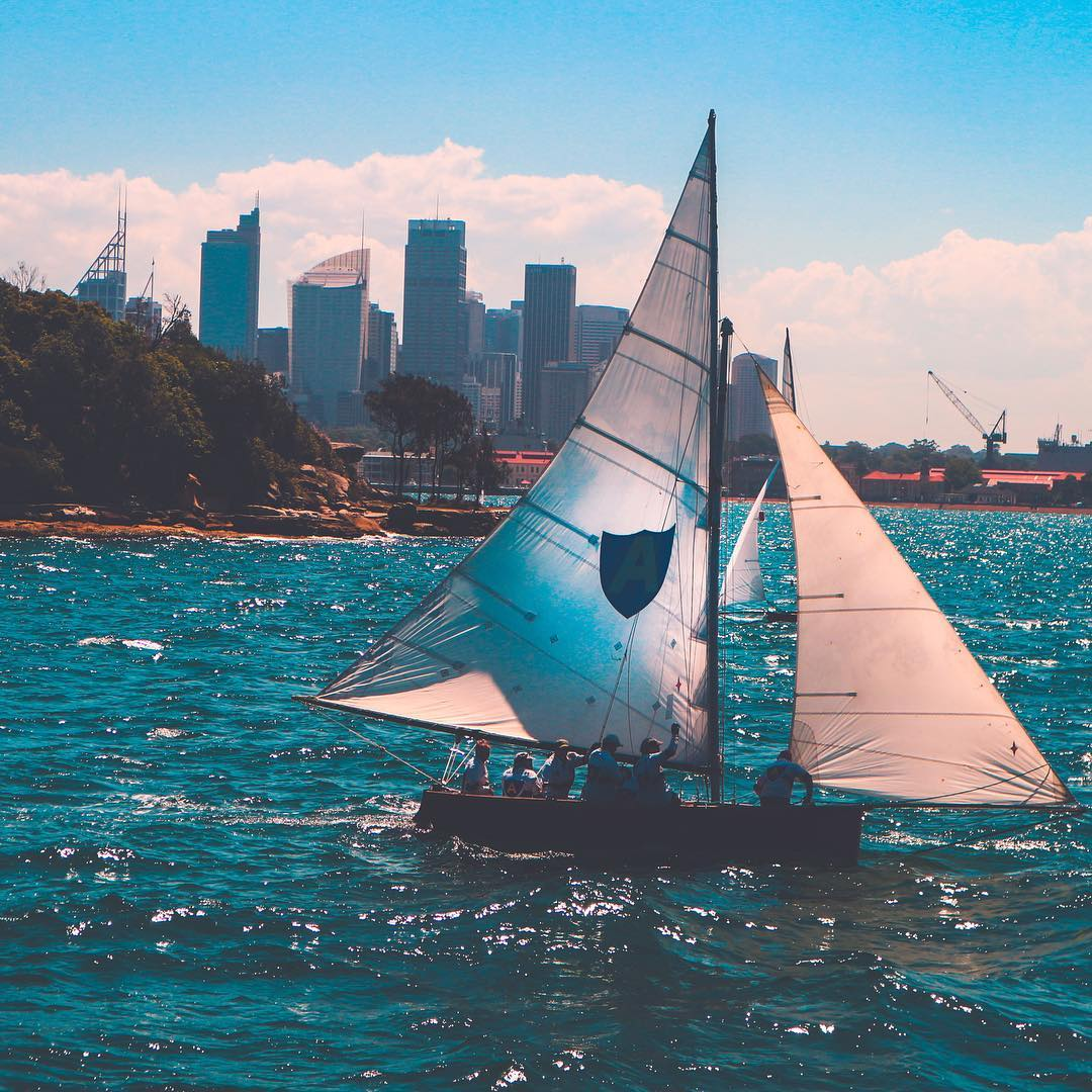 Lovely place/day for a sail at Sydney Harbour . . . . .  ...