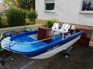 New Railblaza Parts for my old Fishing Boat. Still rebuilding… Love the Rodholde…