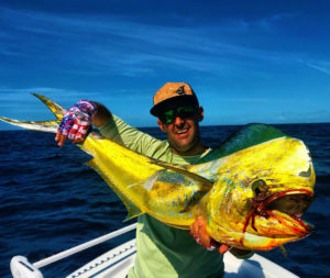 Super fun mahi fishing today off the reef with the kings and tuna in the mix!   …
