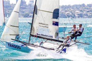 tearing up  in a 15-knots East-North-East wind, producing some close racing and…