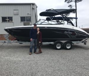 Carolina Skiff – Matt Wicker would like to thank Mr. Dan Henderson for his business and congrats …