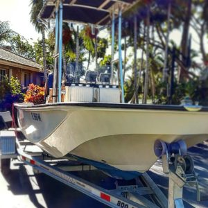 Absolutely stoked!! Got my first boat and its a vintage whaler Montauk nonethele…