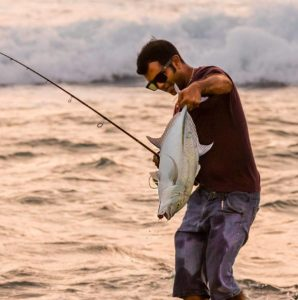 Bluefin trevally from the Surf