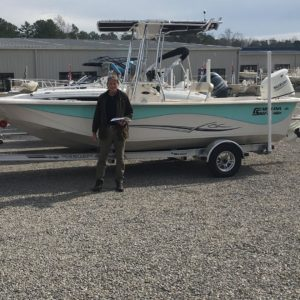 Carolina Skiff – Jonathon Nowell would like to thank Austin Apperson for his business and congrat…