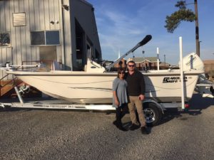 Carolina Skiff – Marc Z would like to congratulate David McBryde & Marisol Rivera on picking up t…