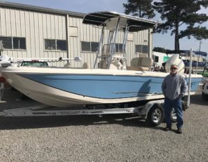 Carolina Skiff – Robert Faulk would like to thank Mr. Koll for his business and congrats on the n…