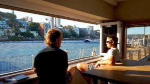 Here's an idea for a Thursday… a front row seat to our beautiful harbour. Just…