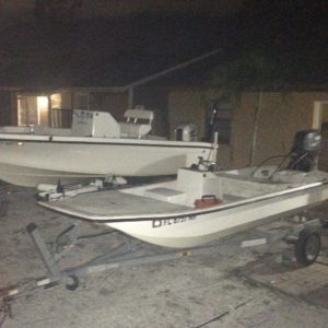 I think this the first time having 2 running boats at the same time  outboards…