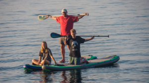 Baby Boomers use motorized paddle boards to extend outdoor fun after Retirement