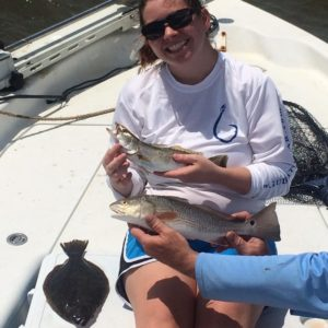to 2014 and my wife's  first Inshore slam fishing with                      …