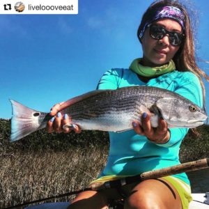 with a beautiful blue tail Rojo! ・・・ Catching Reds never gets old, especially t…