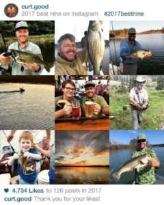 Apparently, fishing and being outdoors has consumed the majority of my 2017.    …