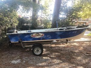 I just realized I didn't have any pictures of my boat since I finished it…. 4 …