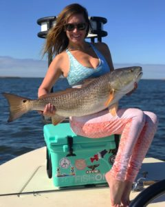 Ashley with a gorgeous Redfish