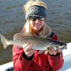 Awesome day on the water today! Several Specks, Reds, & Black Drum.             …