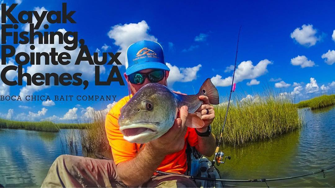Boca Chica on 'dem Louisiana Redfish