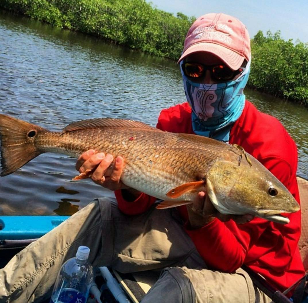 Lowcountry Pumpkin colored Redfish