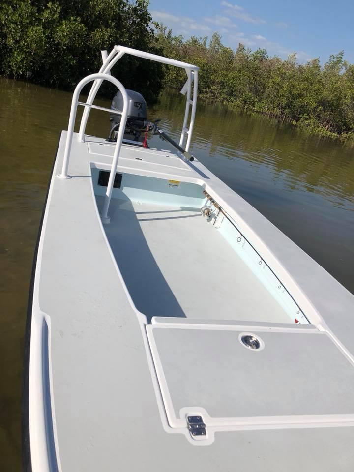 skiff new mangrove boatworks