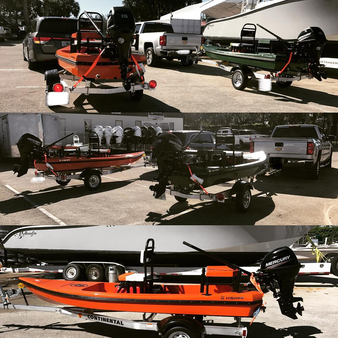 2 More H:Skiffs going home with their new owners! H:SKIFF...The Ultimate Skiff!!...
