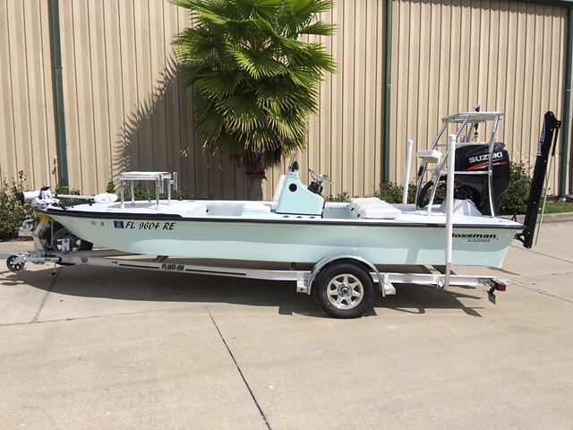 2018 Bossman 18 Skimmer Lodge Edition for sale $24,950! Ready to go in 4 weeks! ...