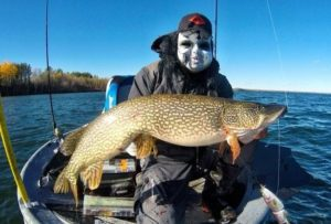 BOOOO!!!! CREDIT TO  for catching this Northern Pike last week and  rocking the …