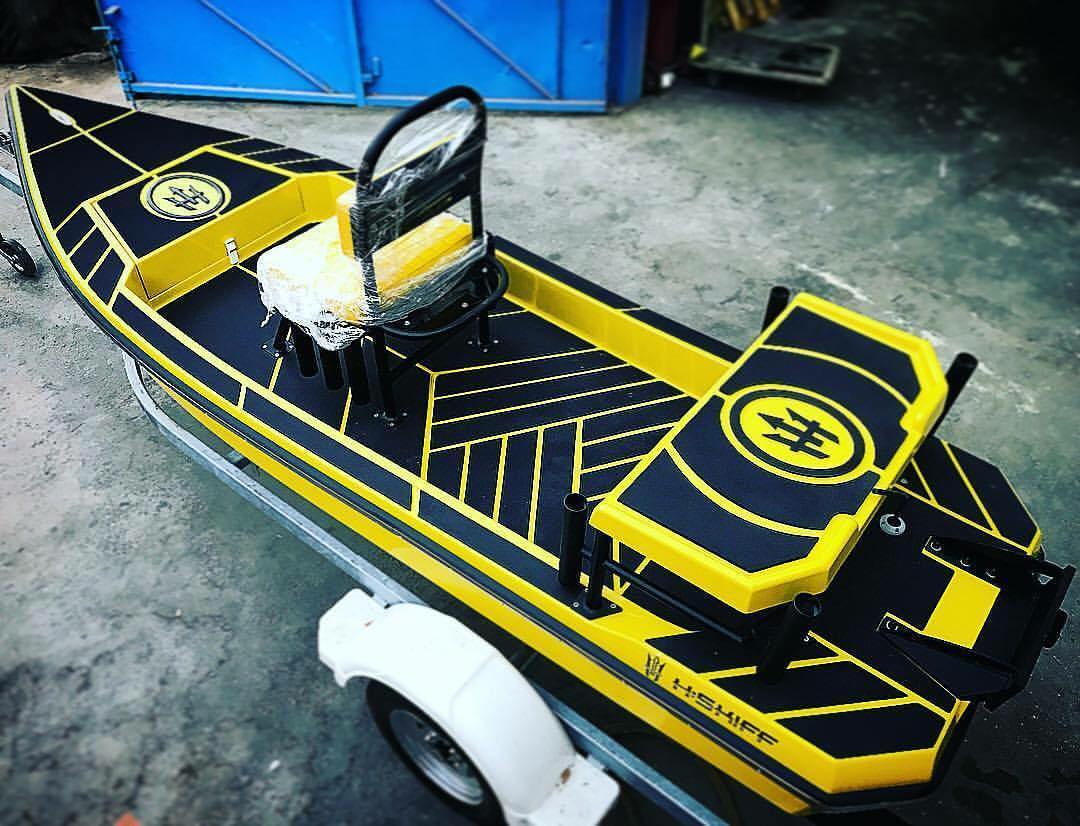 Black n Yellow! Get yours! H:SKIFF...The Ultimate Skiff!!                       ...