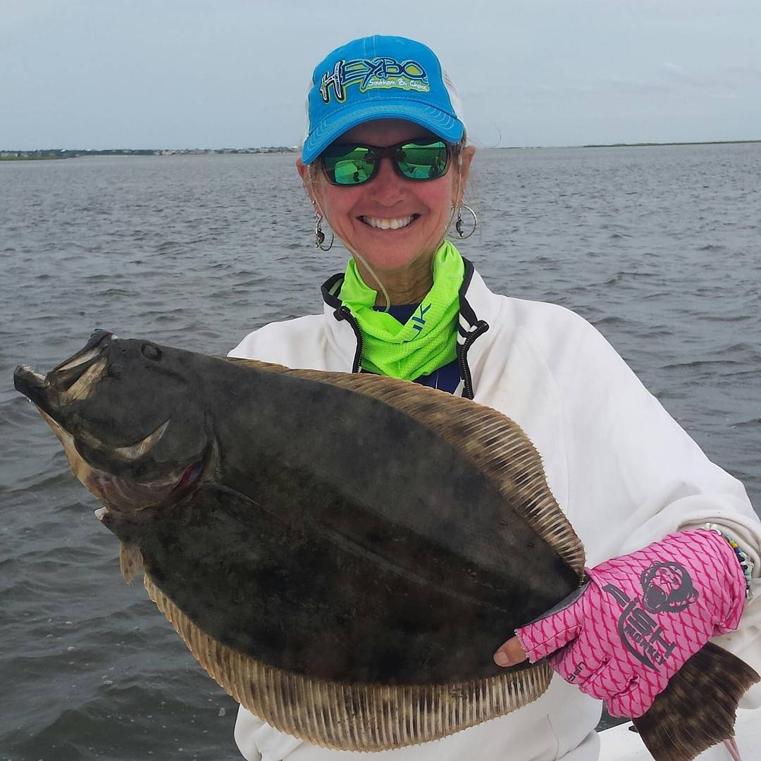 Carolina rig/live finger mullet and fish monkey gloves were the trick landing th...