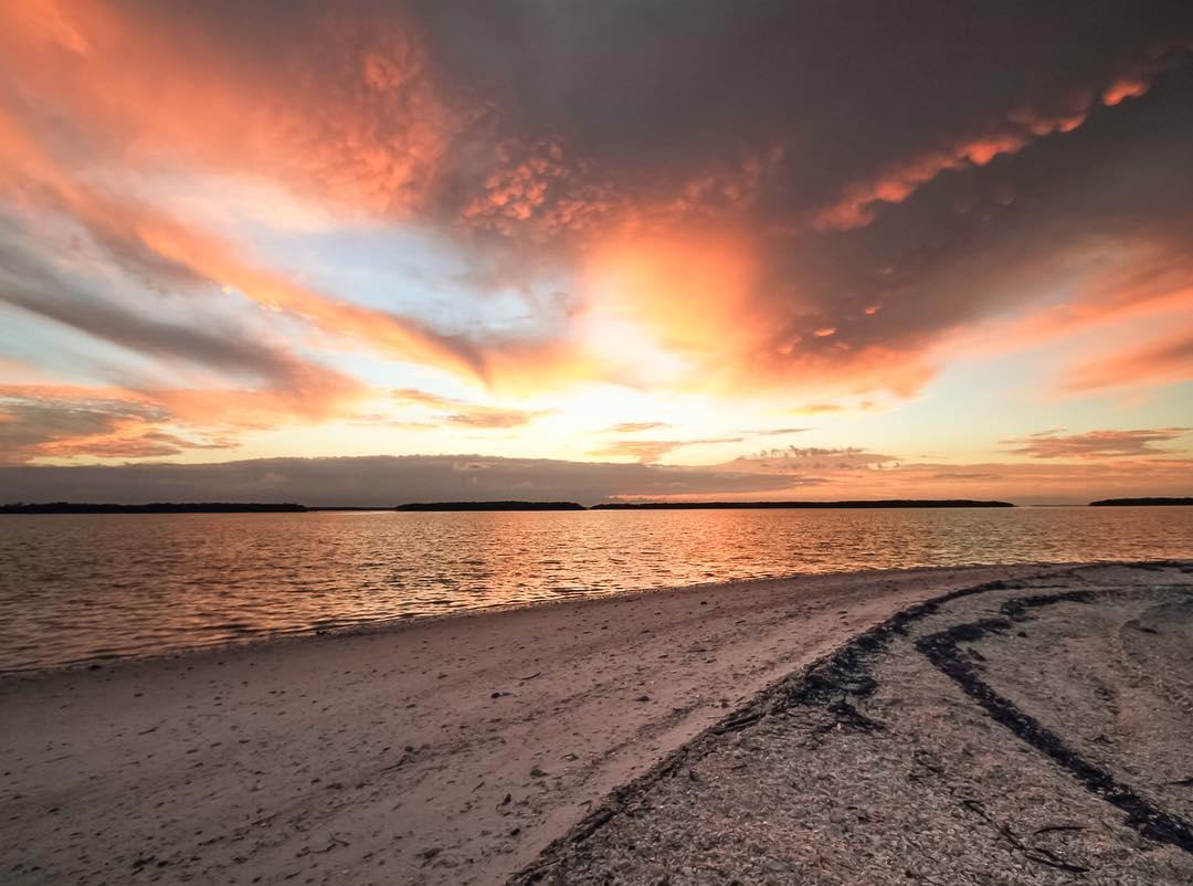 Everglades National Park. Pavilion Key sunrise                 ...
