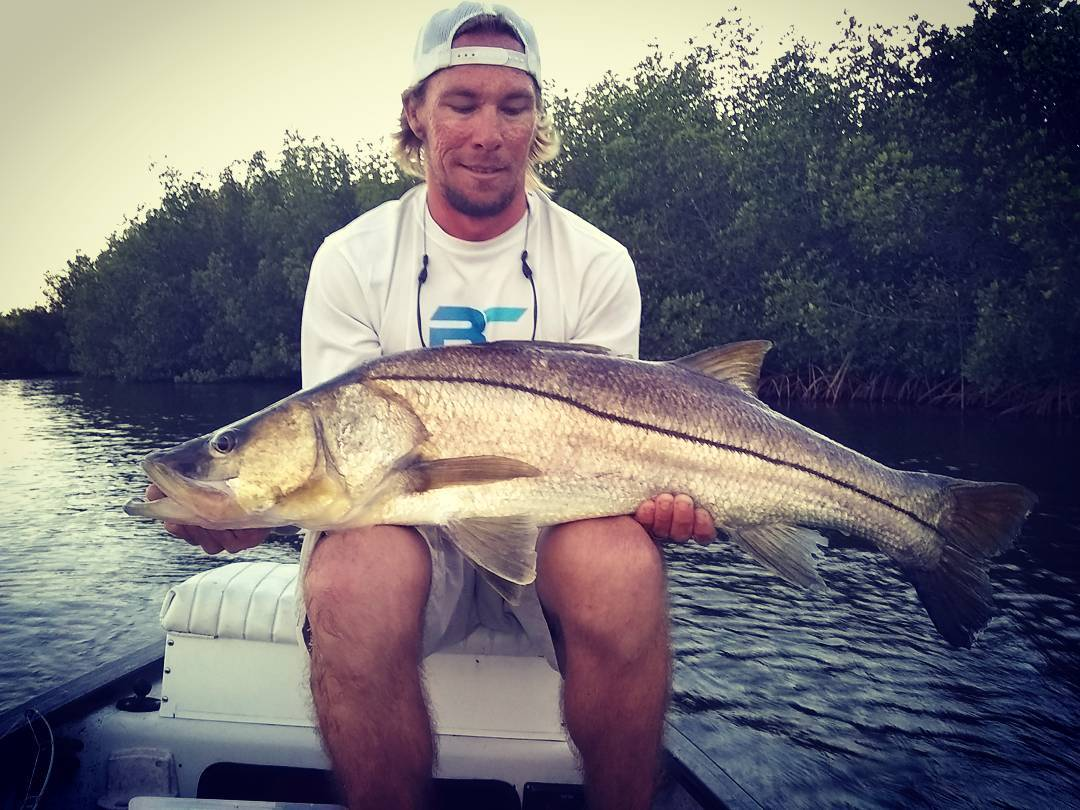 Got a BIG surprise on the top water today while fishing for big jacks back in th...