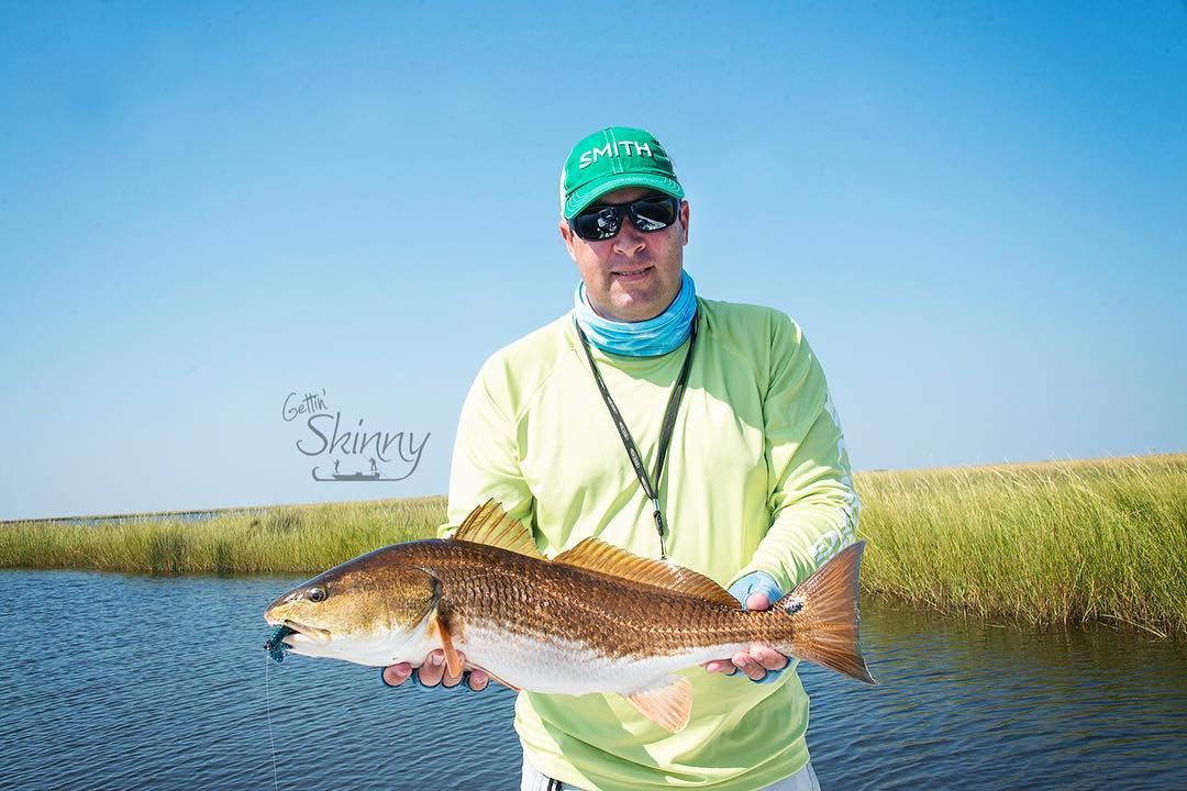 Hello Monday! Check out the belly on this beauty! Nice 8.5lbs slot redfish!     ...