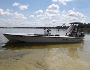 Capt. Mike's Silver King Skiff, BEAUTIFUL!