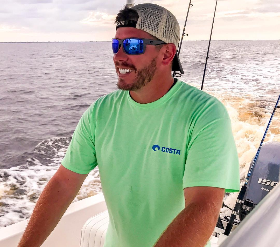 It's hard to not be happy when you're out on the water!...