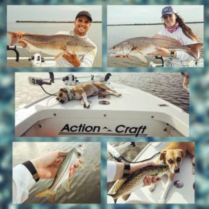 Just another beautiful day on the water back in August with a few nice reds and …