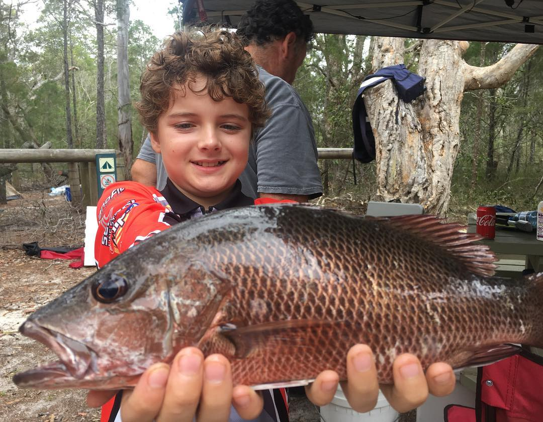 Love this little bloke! What a mad fisho he is! Of the 10 jack caught for the we...
