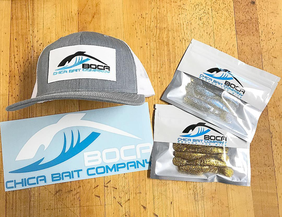 New hats. New vinyls. Same great baits.  - - -  ...