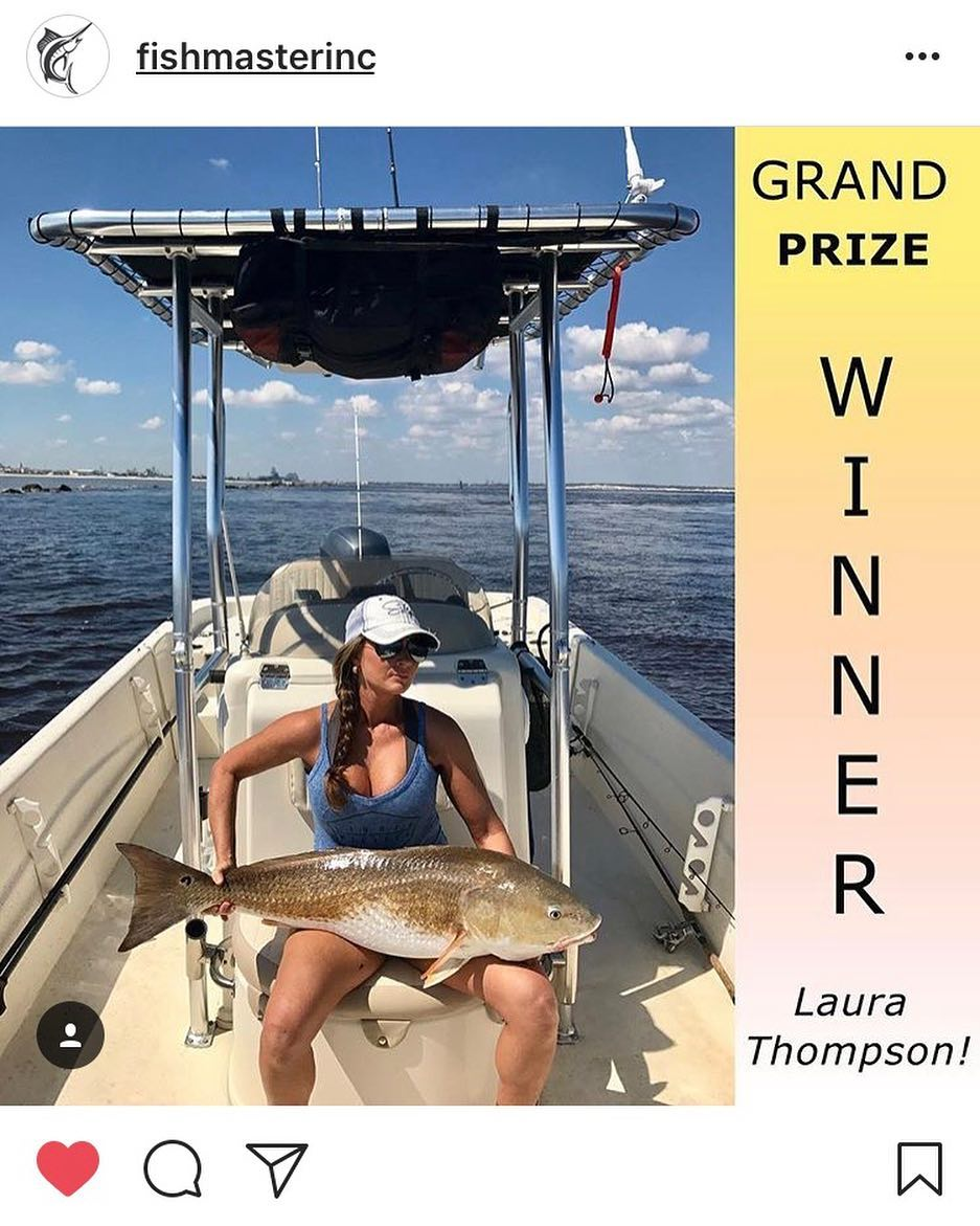 OH MY WOW I just won my first ever red drum/bull mount!!!! Thank you so much Fis...