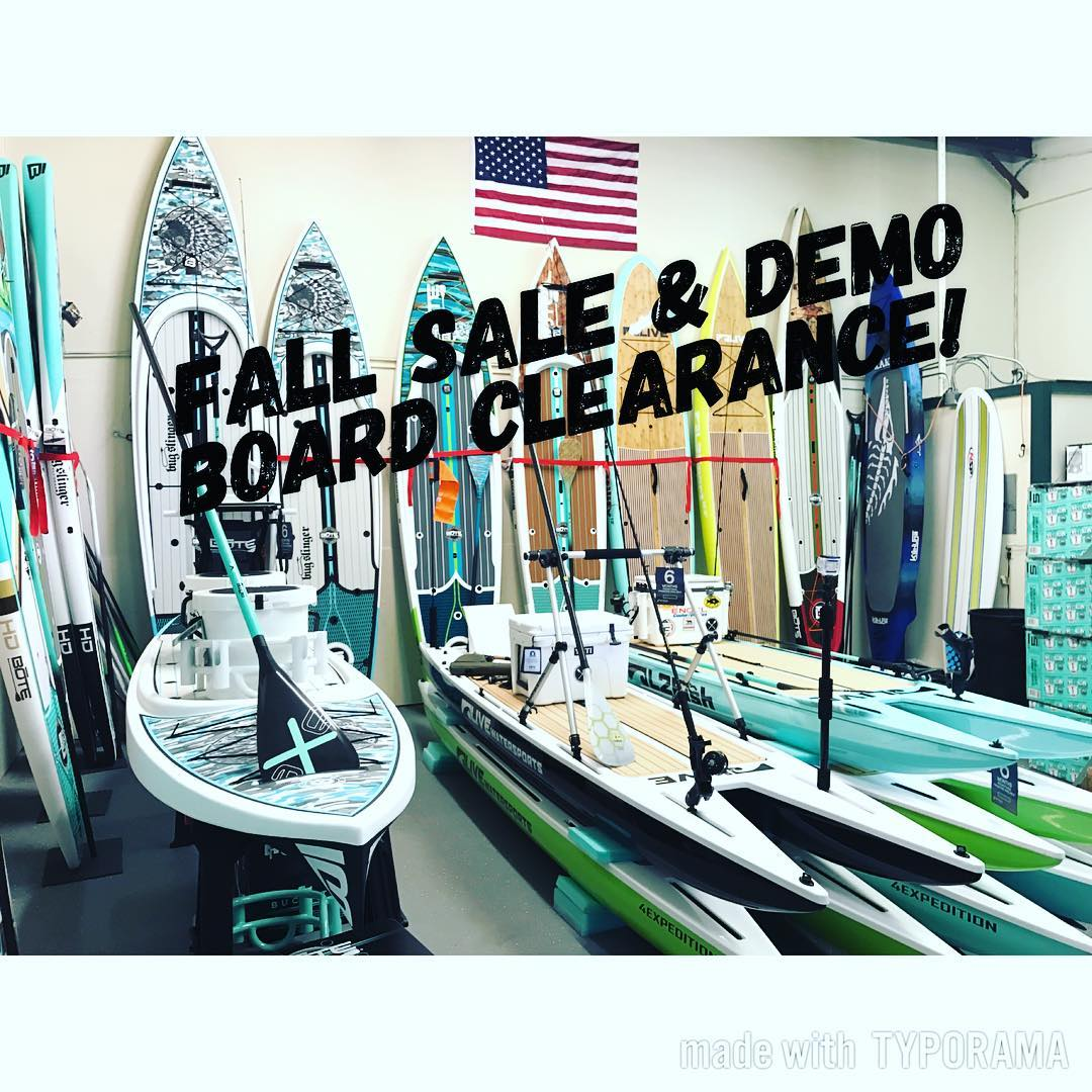 Our Fall Sale & Demo Board Clearance going on now! Full line of demo boards avai...