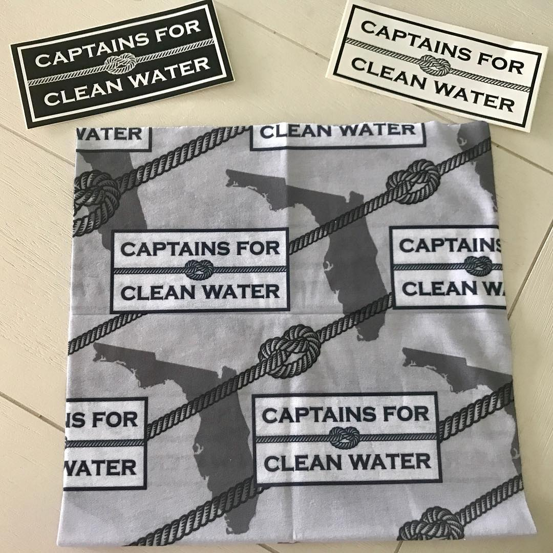 Shout out to Captains for Clean Water for the stickers and Hoo-rag. Even if you ...