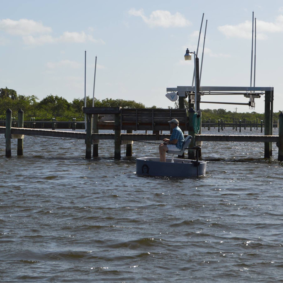 The  is the perfect boat for fishing around structure such as docks!            ...