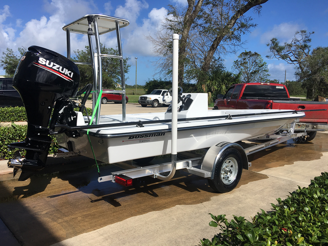 The new 2017 Bossman Tortuga. Super ecstatic with the new boat.   ...