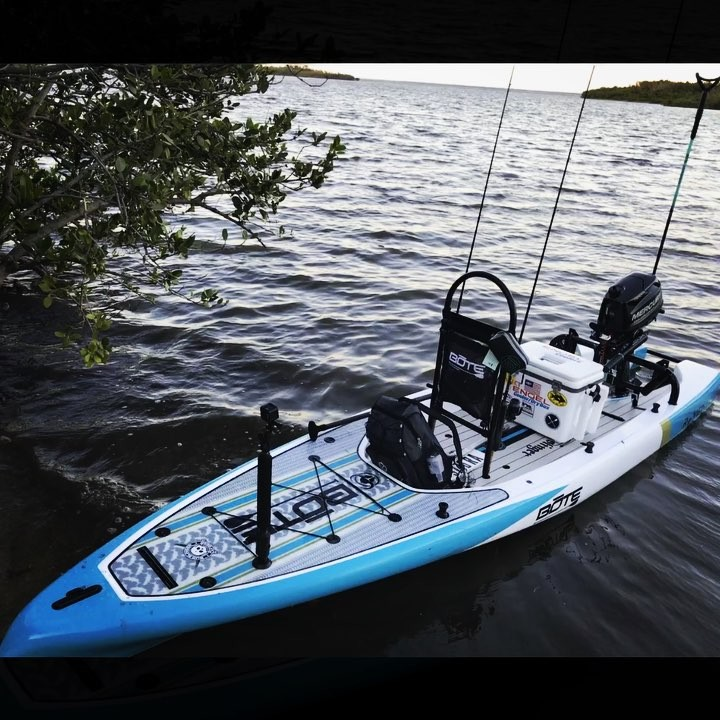 What a game changer! There isn't a place you can't reach with a microskiff. Avai...