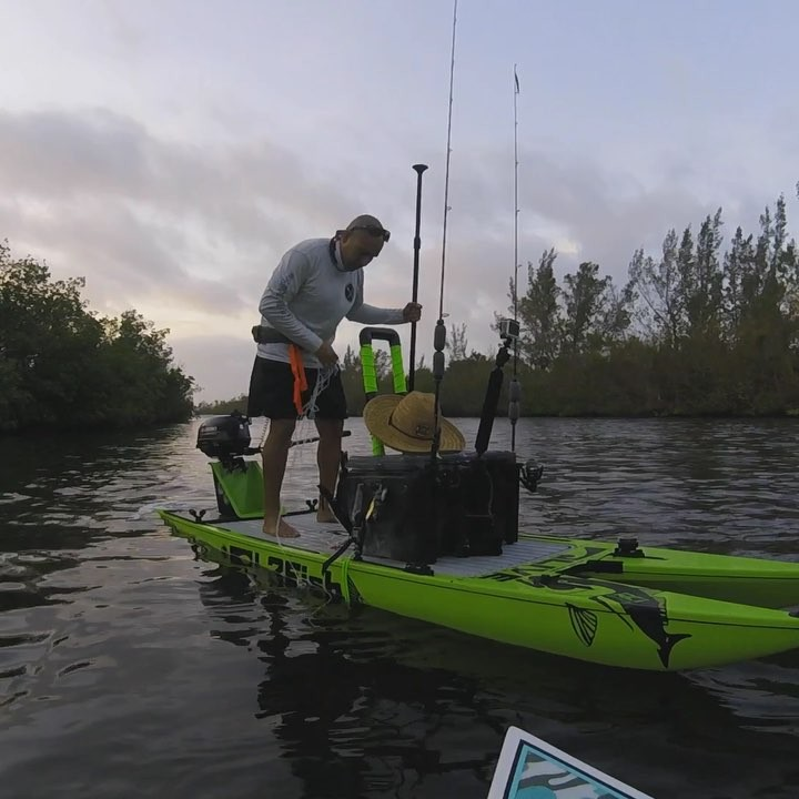 Winds didn't stop us today. L2Fish w/2.5hp Suzuki and Bote Rackham 12.          ...