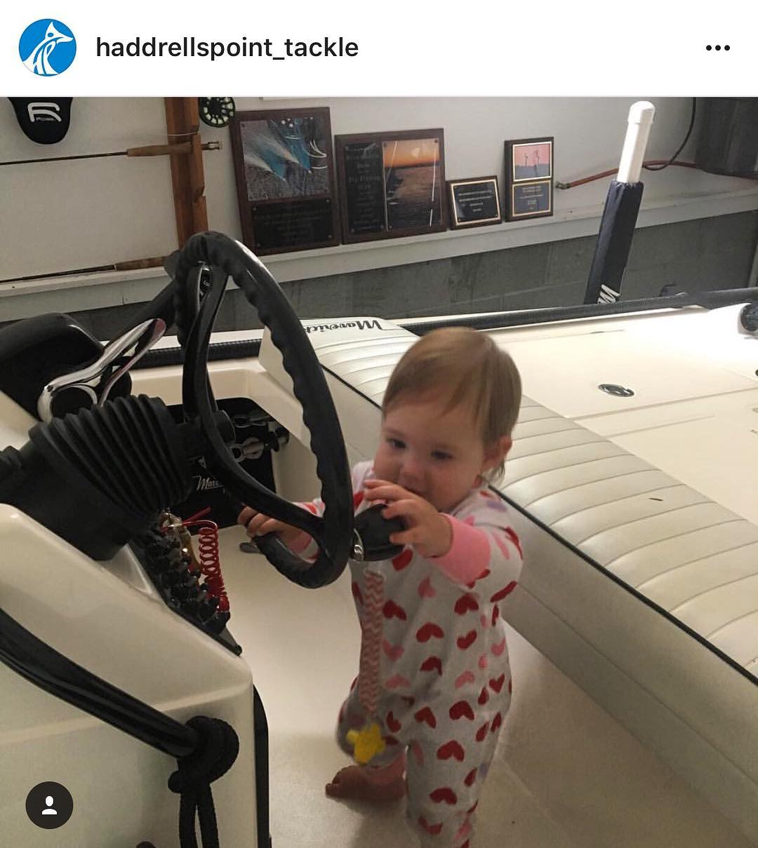 them while they are young is the best way to get them addicted to boating! She...