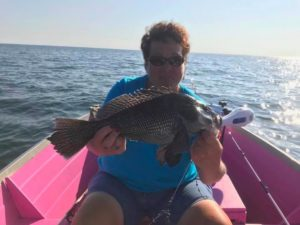 Black Sea Bass fishing is still going strong and our rigs slay them! . . .  …